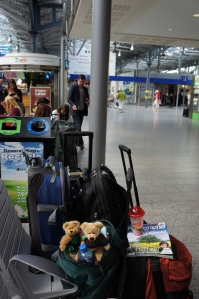 Bears in the Heuston Train Station, Dublin
