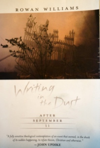 book cover, Writing in the Dust