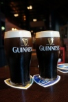 two pints of Guinness