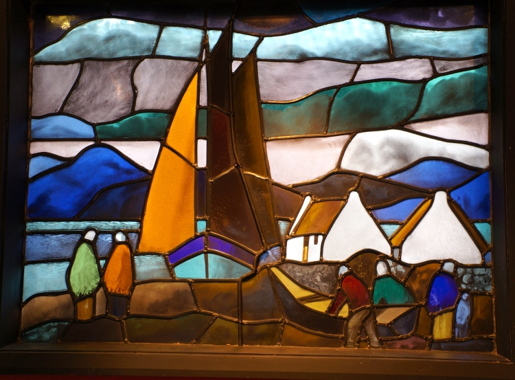 Markey Robinson stained glass