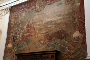 Tapestry of the Battle of Boyne - 1690