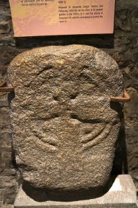 stone at St. Audeon Church, Dublin