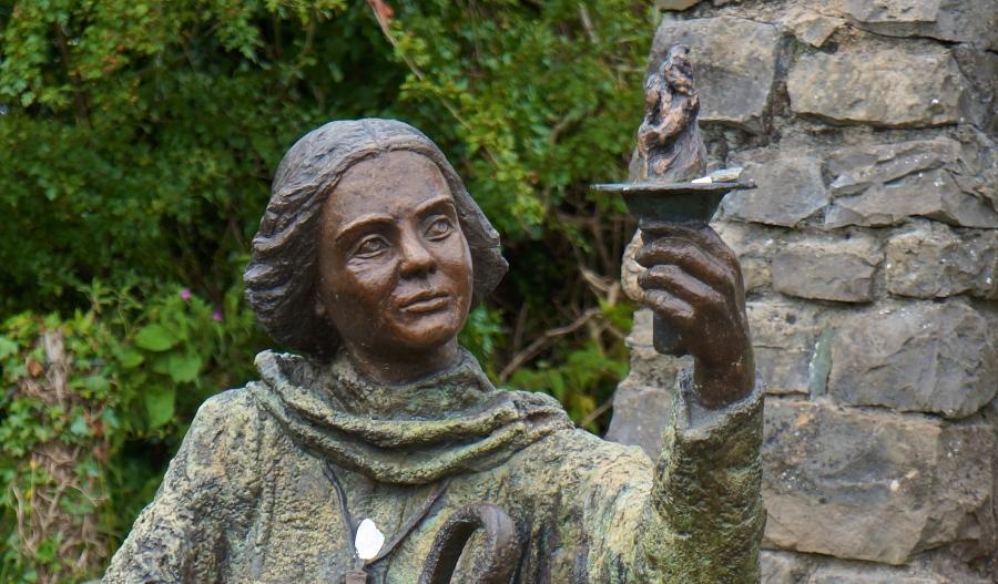 Statue of Bridget