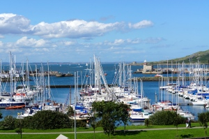 Howth harbor, Ireland