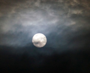 full moon in late August - Ireland