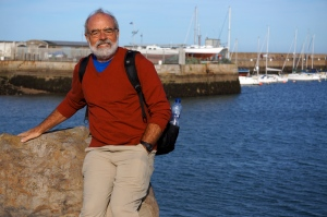 Phil at the Howth harbor