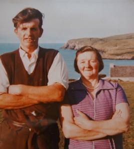 Agnes' dad & mum