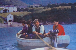 Agnes' dad rescuing a stranded boater