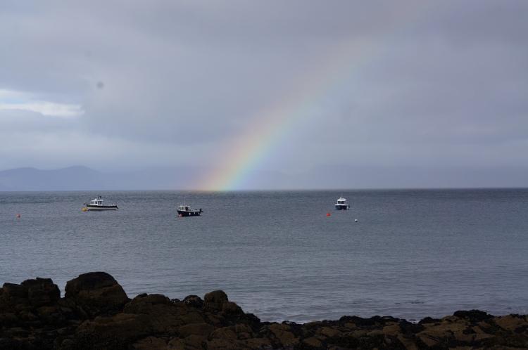 rainbow - Kells BAy - 9/10/2012