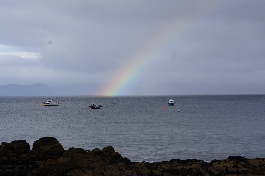 rainbow - Kells BAy - 9/10/2012