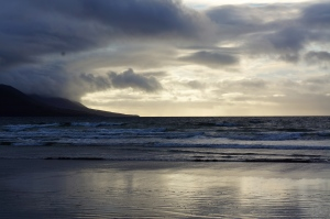 sunset at Rossbeigh