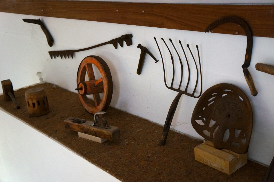 antique farming items