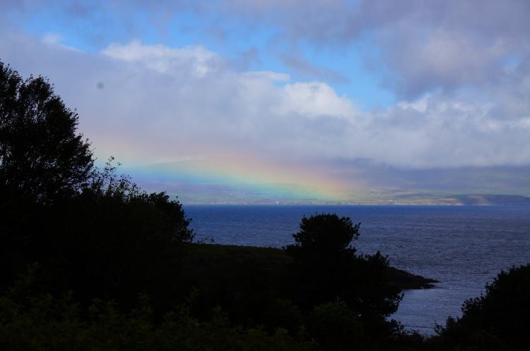 rainbow over Dingle