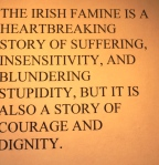 the potato famine