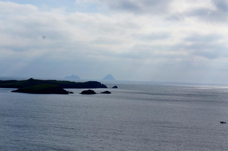 Skelligs on the horizon