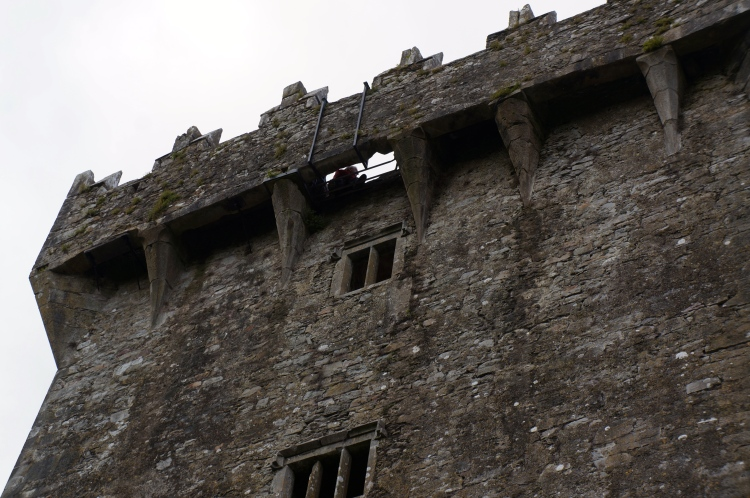 blarney stone from the ground