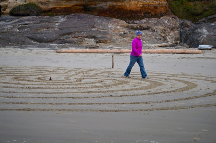 daughter within  a Pacific labyrinth