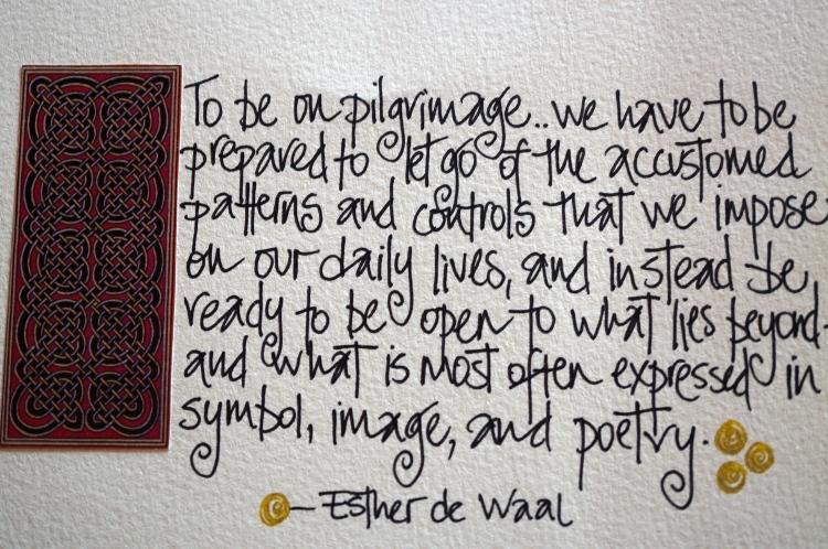 Esther de Waal quote