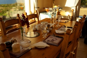 Taobh Coille dining table