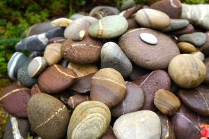 Rossbeigh stones at Kells house