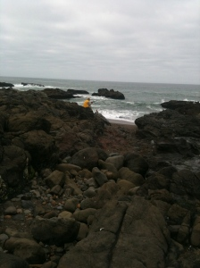 Patricia's picture of Phil at Yachats