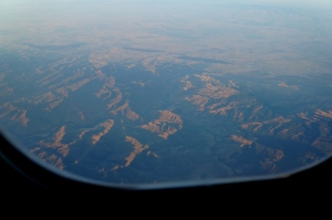 over the rockies toward home