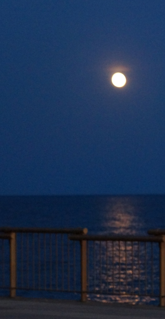 Path of the full moon - September, 2012 - Lake Superior