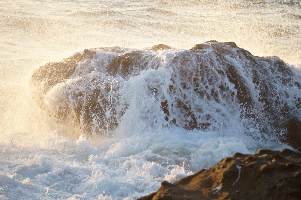 rock awash