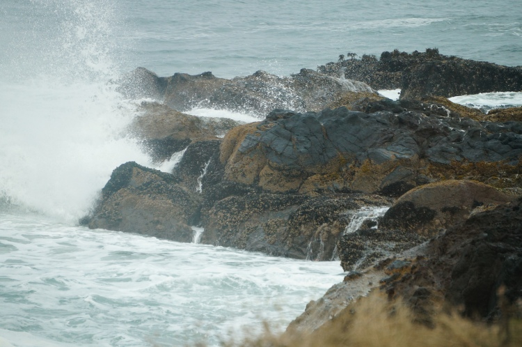 water & rocks in conversation