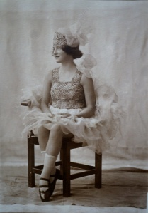 Margaret as a young dancer
