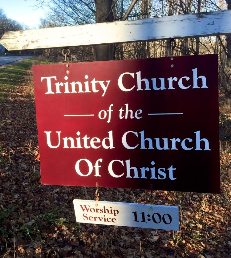 Trinity Church of the UCC sign - Nov 28, 2015.jpg