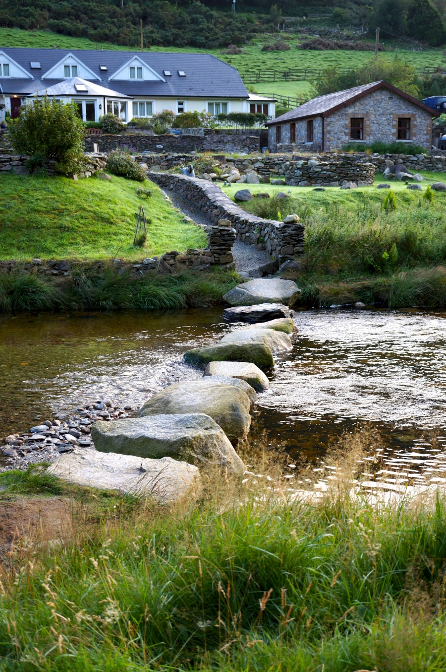 Nine Stones leading to Riversdale B&B and the stone cottage.jpg