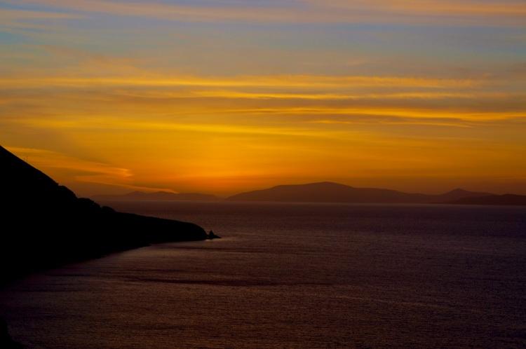 Sunset, Dingle Bay, Ring of Kerry near Kells.jpg