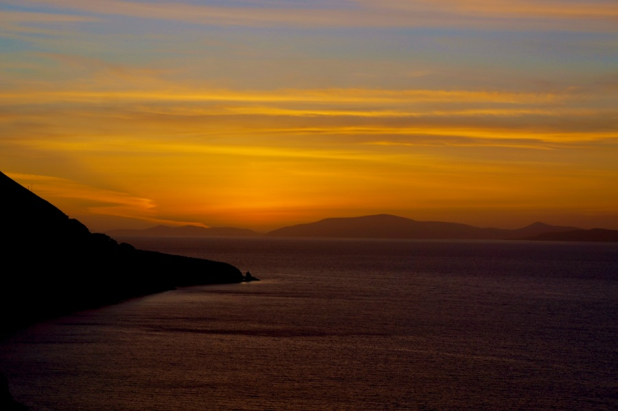 Sunset, Dingle Bay, Ring of Kerry near Kells.jpg